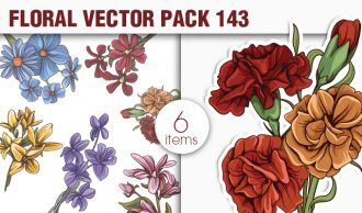 Floral Vector Pack 143 Floral [tag]