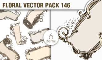Floral Vector Pack 146 Floral [tag]