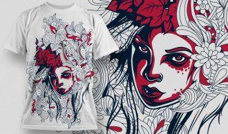 T-shirt Design 611 T-shirt Designs and Templates urban