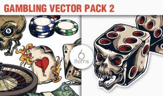 Gambling Vector Pack 2 People [tag]