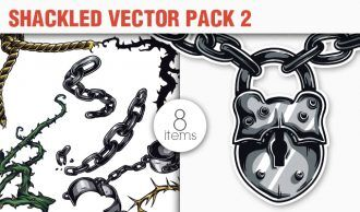 Shackled Vector Pack 2 Heraldry [tag]