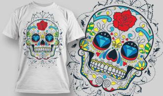 T-shirt Design 623 T-shirt Designs and Templates vector