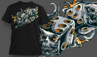 T-shirt Design 624 T-shirt Designs and Templates vector