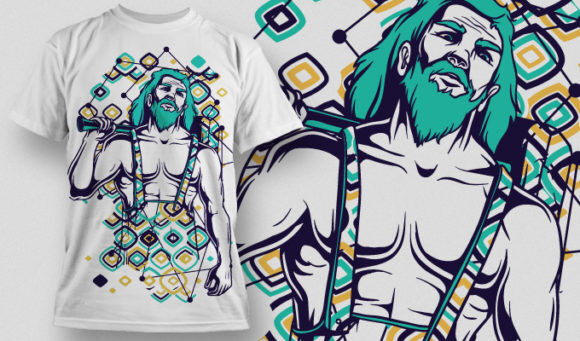 T-shirt Design 632 T-shirt Designs and Templates vector