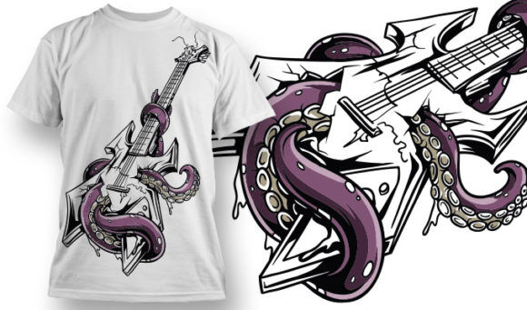 T-shirt Design 641 T-shirt Designs and Templates vector
