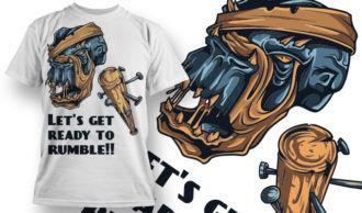 T-shirt Design 646 T-shirt Designs and Templates vector