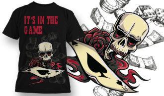 T-shirt Design 648 T-shirt Designs and Templates vector