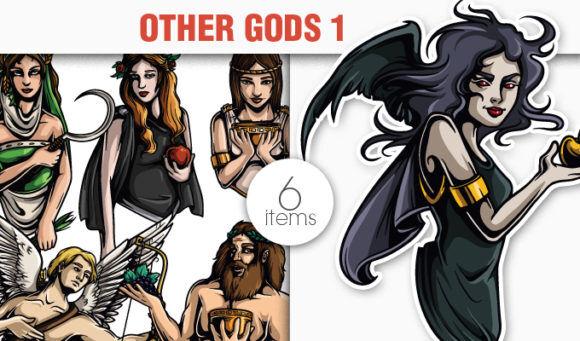 Greek Mythological Other Gods Vector Pack 1 Religion [tag]