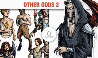 Greek Mythological Other Gods Vector Pack 2 Religion [tag]