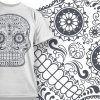 T-shirt Design 666 T-shirt Designs and Templates vector