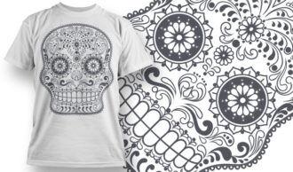 T-shirt Design 667 T-shirt Designs and Templates vector