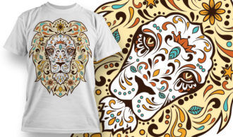 T-shirt Design 668 T-shirt Designs and Templates vector
