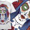 T-shirt Design 670 T-shirt Designs and Templates vector