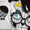 T-shirt Design 674 T-shirt Designs and Templates vector