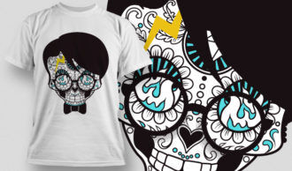 T-shirt Design 675 T-shirt Designs and Templates vector