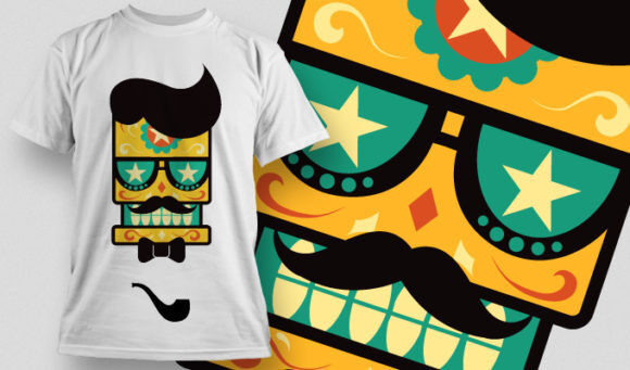 T-shirt Design 678 T-shirt Designs and Templates vector