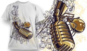 T-shirt Design 683 T-shirt Designs and Templates vector