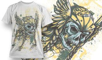 T-shirt Design 685 T-shirt Designs and Templates vector