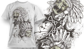 T-shirt Design 687 T-shirt Designs and Templates vector