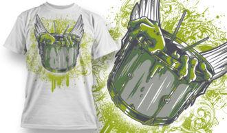 T-shirt Design 688 T-shirt Designs and Templates vector