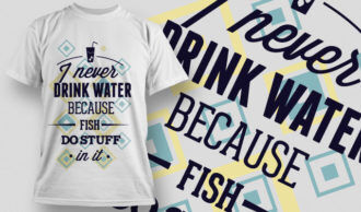 T-shirt Design 698 T-shirt Designs and Templates vector