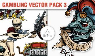 Gambling Vector Pack 3 People [tag]
