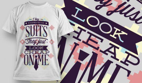 T-shirt Design 719 T-shirt Designs and Templates vector