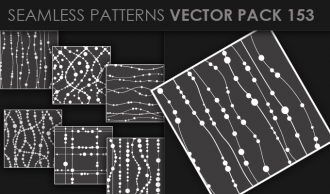 Seamless Patterns Vector Pack 153 Vector Patterns [tag]