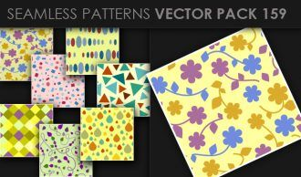 Seamless Patterns Vector Pack 159 Vector Patterns [tag]