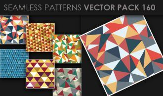 Seamless Patterns Vector Pack 160 Vector Patterns [tag]