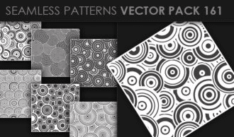 Seamless Patterns Vector Pack 161 Vector Patterns [tag]