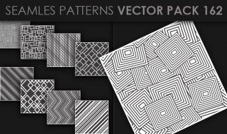 Seamless Patterns Vector Pack 162 Vector Patterns [tag]