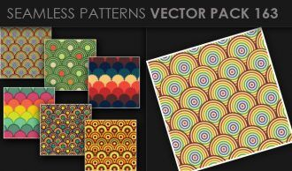 Seamless Patterns Vector Pack 163 Vector Patterns [tag]