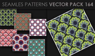 Seamless Patterns Vector Pack 164 Vector Patterns [tag]