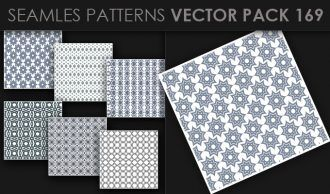 Seamless Patterns Vector Pack 169 Vector Patterns [tag]