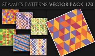 Seamless Patterns Vector Pack 170 Vector Patterns [tag]