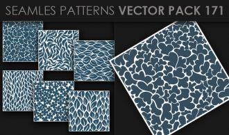Seamless Patterns Vector Pack 171 Vector Patterns [tag]