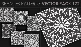 Seamless Patterns Vector Pack 172 Vector Patterns [tag]