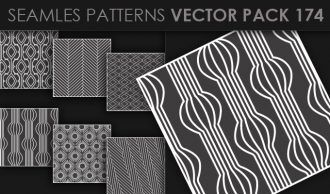 Seamless Patterns Vector Pack 174 Vector Patterns [tag]