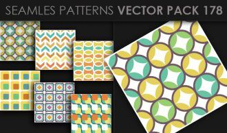 Seamless Patterns Vector Pack 178 Vector Patterns [tag]