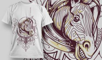 T-shirt Design 733 T-shirt Designs and Templates vector