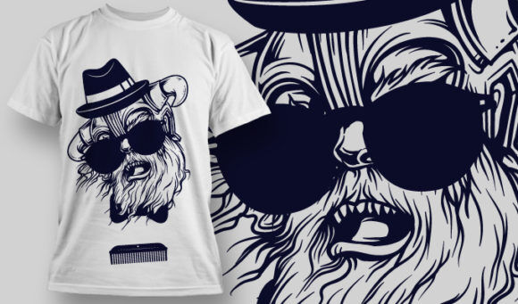 T-shirt Design 736 T-shirt Designs and Templates vector