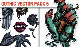 Gothic Vector Pack 5 Heraldry [tag]