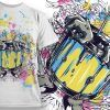 T-shirt Design 741 T-shirt Designs and Templates vector