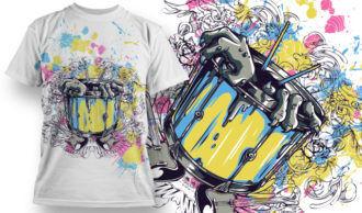 T-shirt Design 742 T-shirt Designs and Templates vector