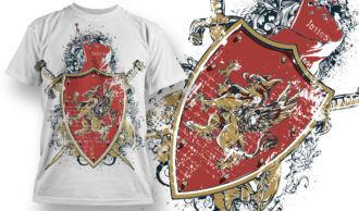 T-shirt Design 743 T-shirt Designs and Templates vector