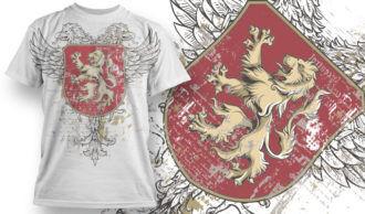 T-shirt Design 745 T-shirt Designs and Templates vector