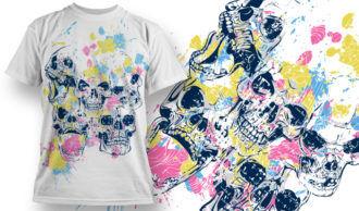 T-shirt Design 746 T-shirt Designs and Templates vector