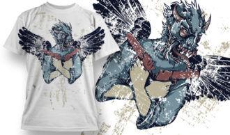 T-shirt Design 747 T-shirt Designs and Templates vector