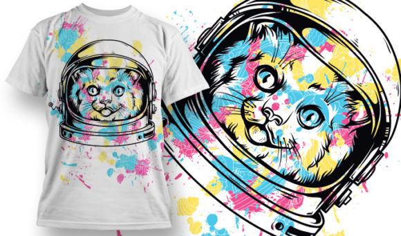 T-shirt Design 749 T-shirt Designs and Templates vector